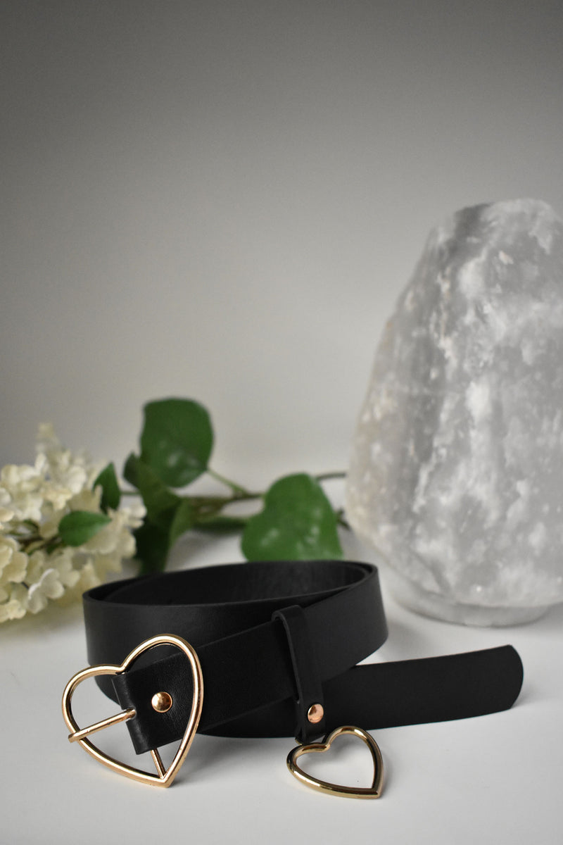 Valentine PU Leather Belt