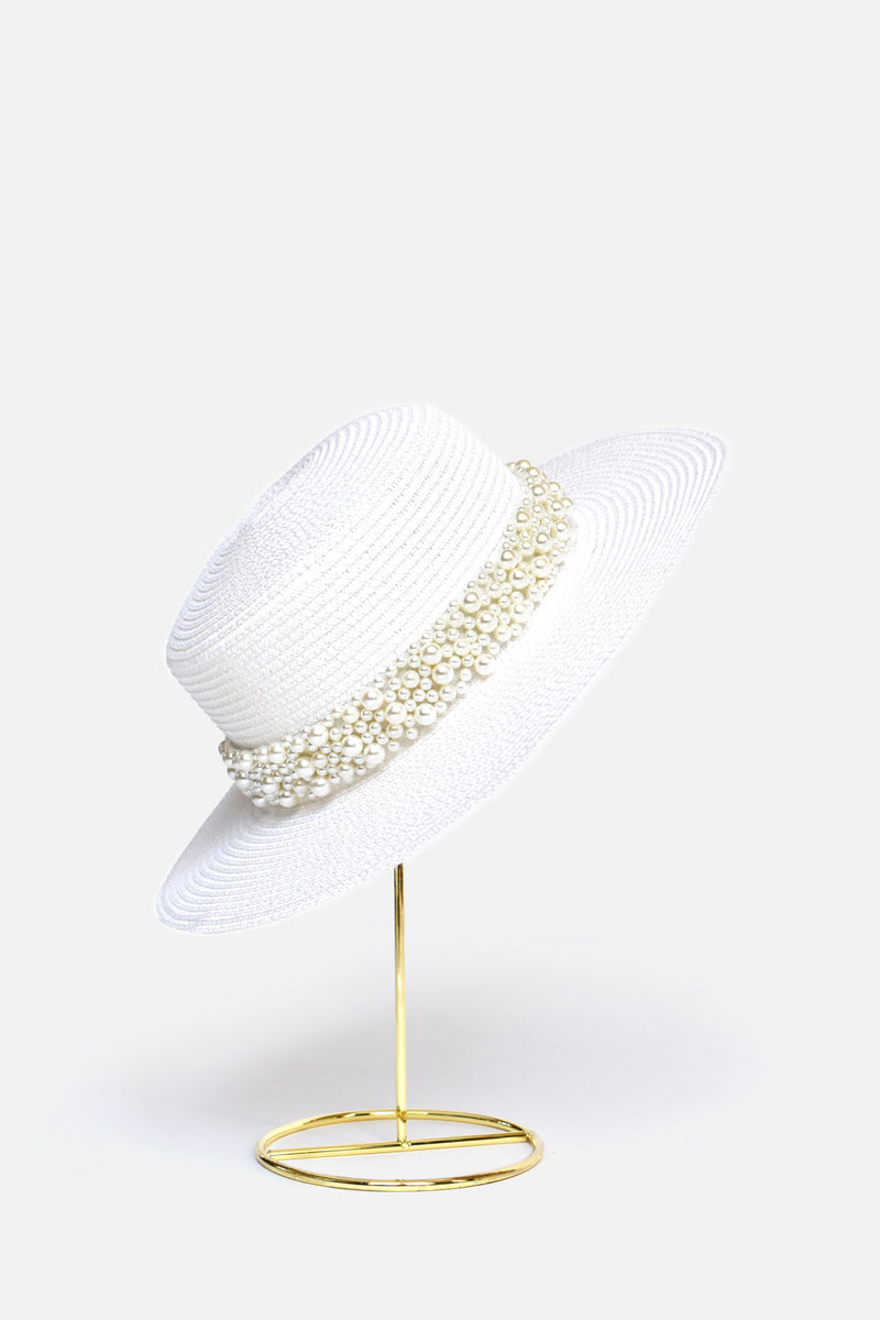 Anne Embellished Straw Hat