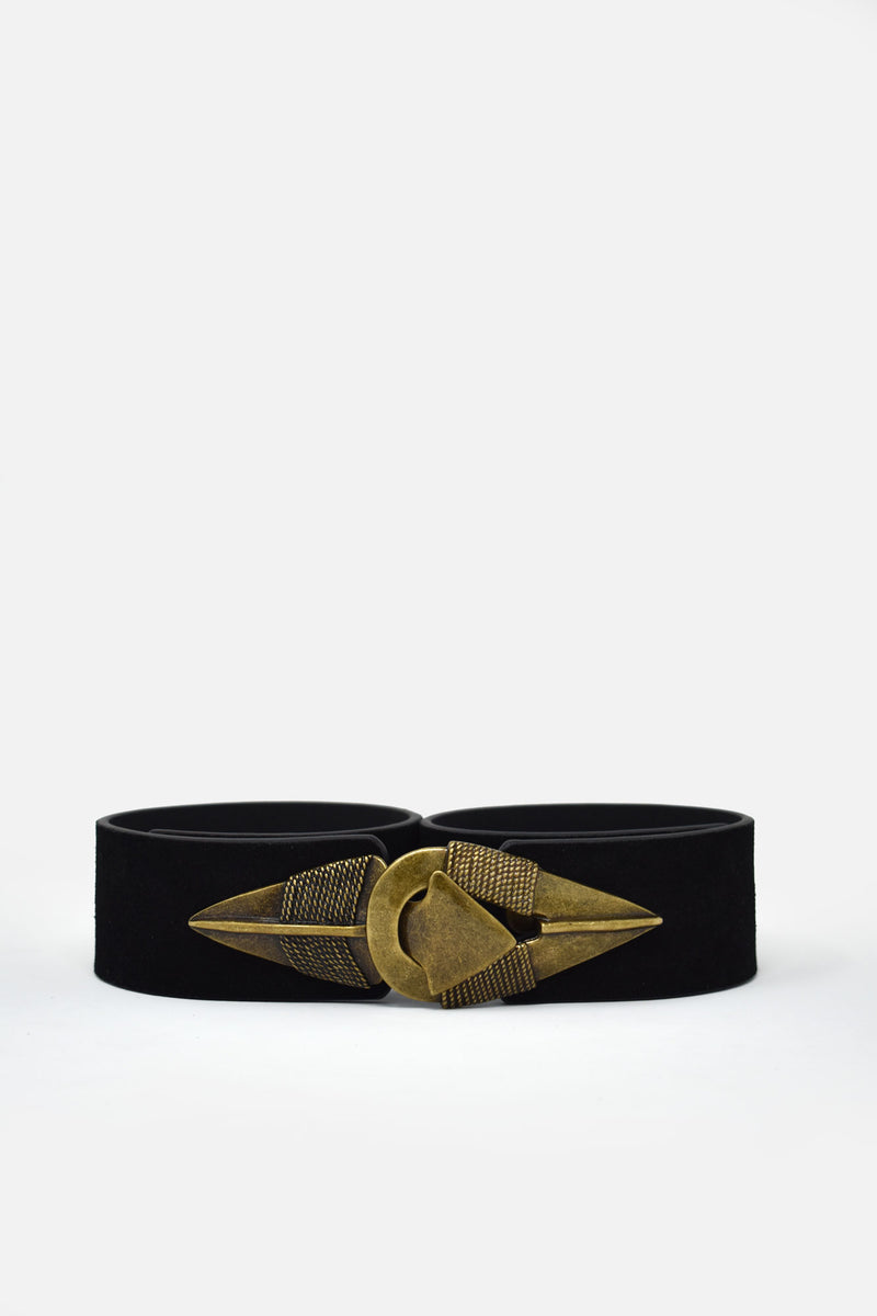 Phillipa Wanderer Black Waist Belt