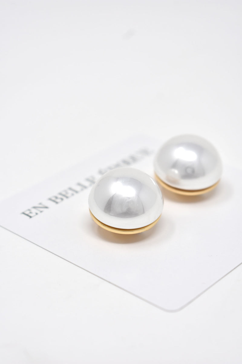 Grand Perle Clip-On Earring