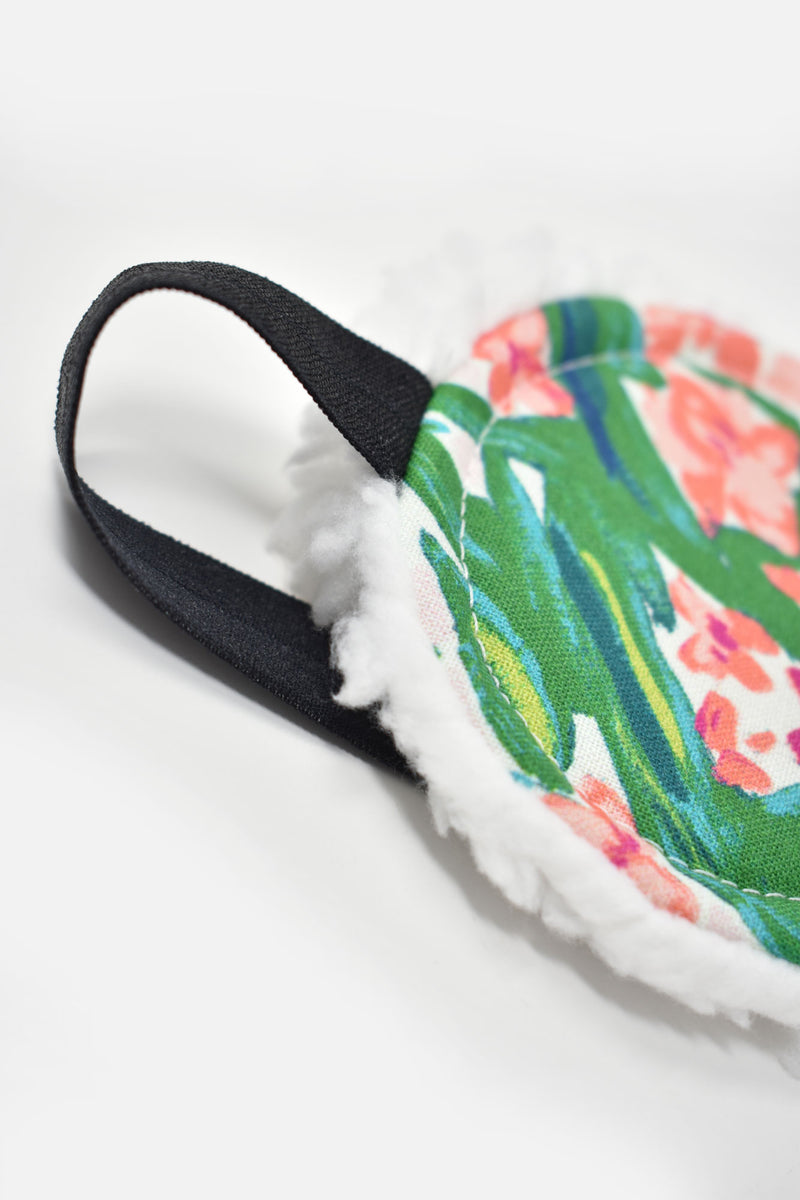 Amorette Tropical Florals Sleep Mask