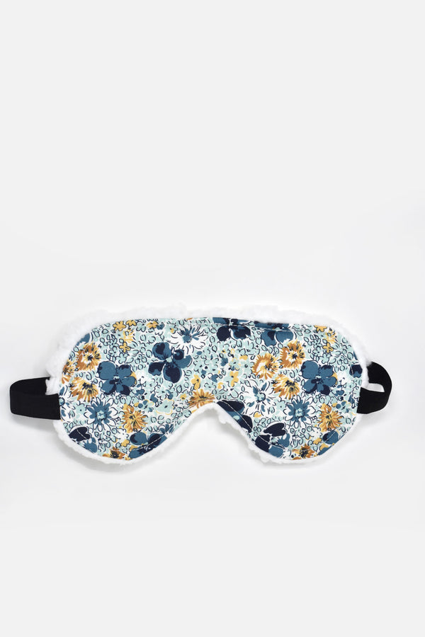 Amorette Blue Florals Sleep Mask