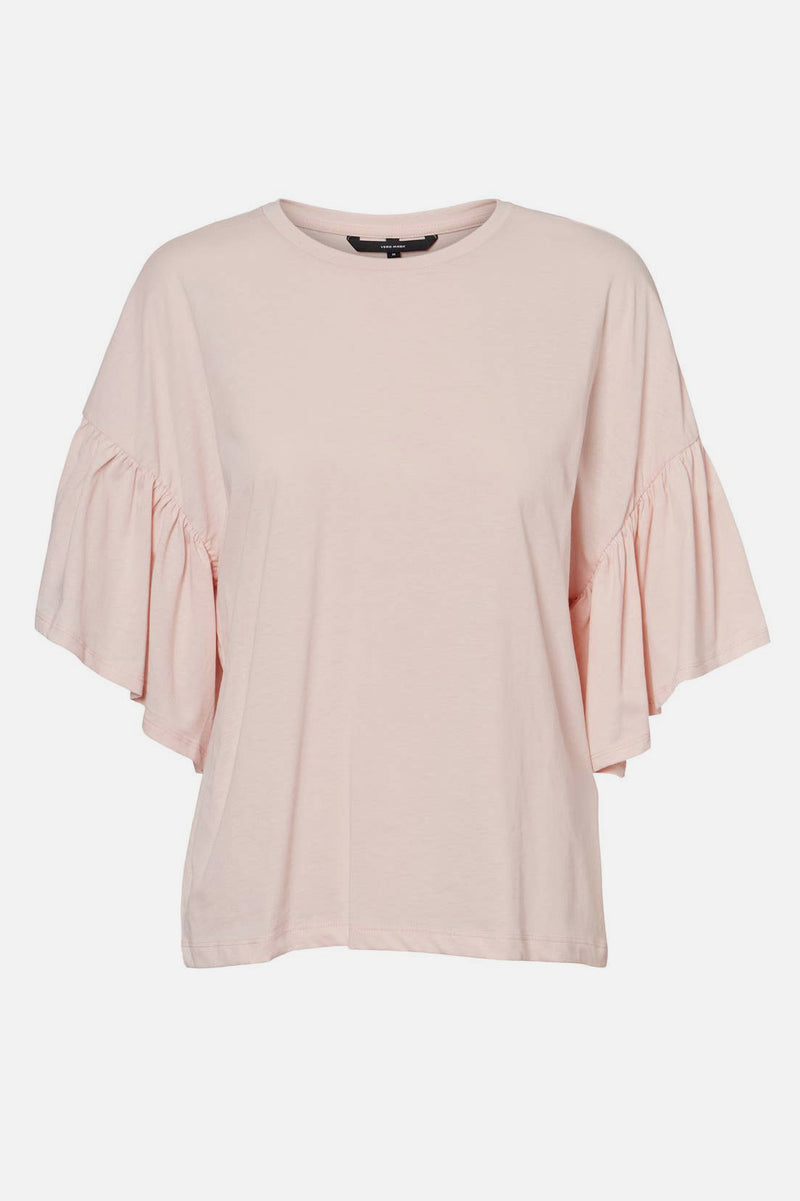Rébecca Rose Ruffled Sleeve Top