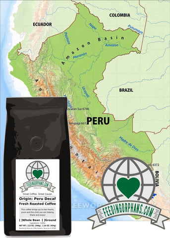 Peru Decaf Single-Origin Decaf Coffee
