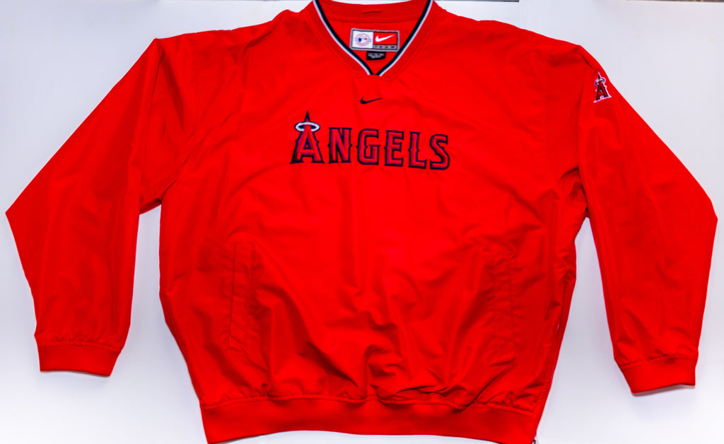 Anaheim Angels Nike Pullover Size: Extra Large Made in Srilanka - Vintage Heaven Shop
