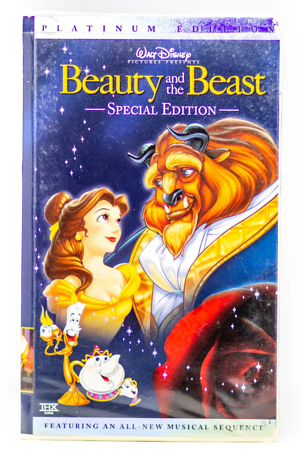 Beauty And The Beast Special Platinum Edition VHS - Vintage Heaven Shop
