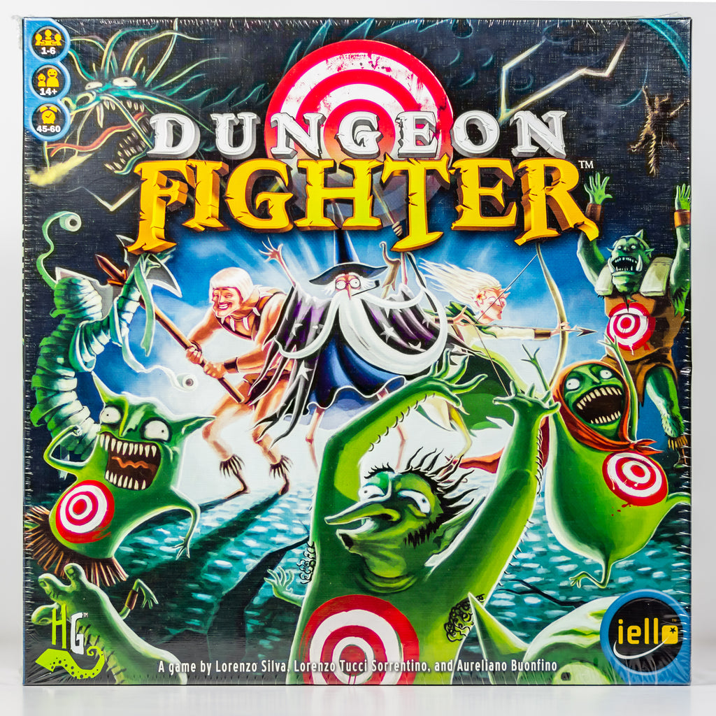 Dungeon Fighter By Iello Board Game New In Original Packaging - Vintage Heaven Shop