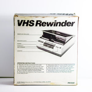 Vintage Gemini VHS Rewinder With Fast Forward & Counter 1991 Model RW3500 Fully Functional - Vintage Heaven Shop