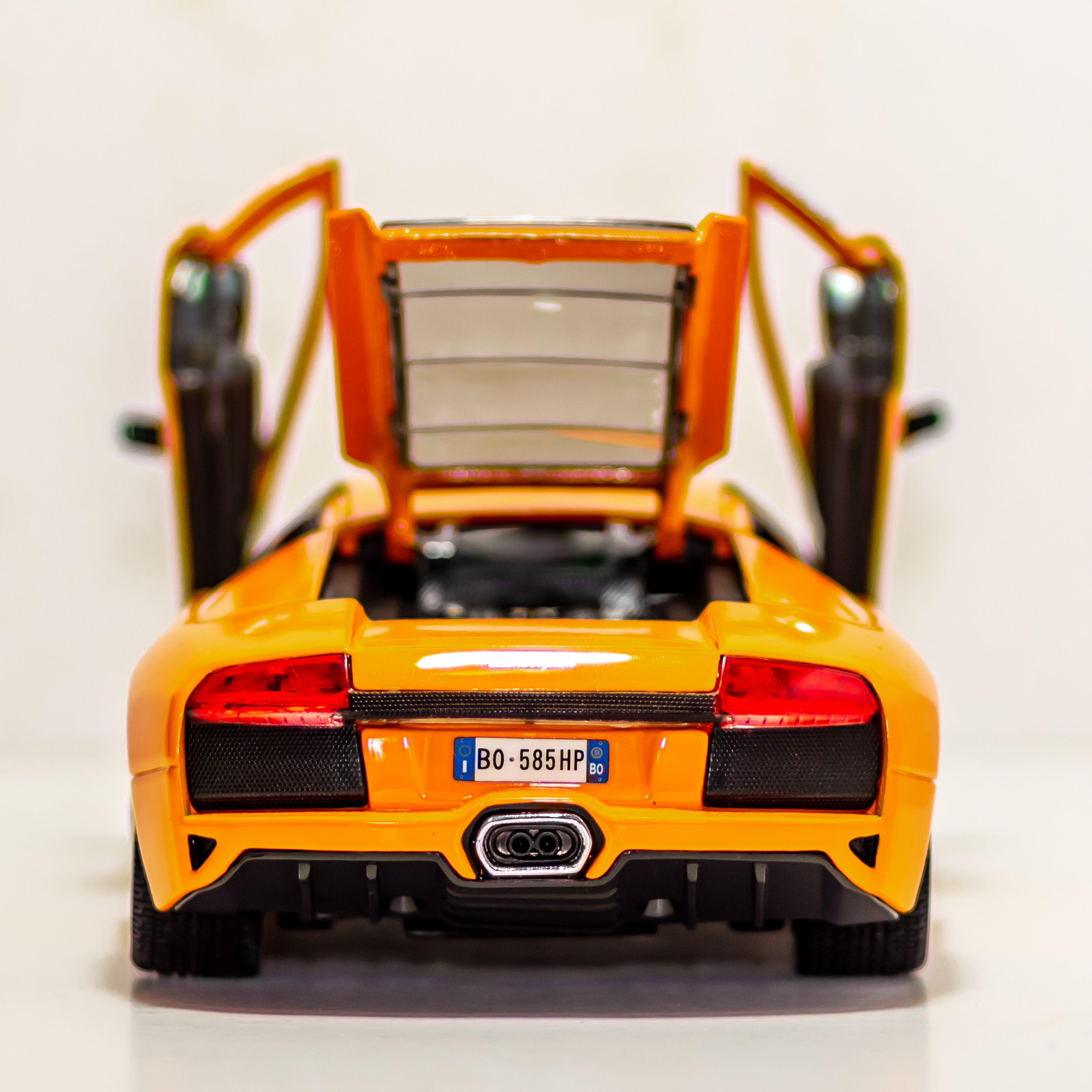 2010 Arancio Atlas Lamborghini Murcielago LP640 Maisto Diecast Vehicle 1:18 Scale NO 11115 Made in China - Vintage Heaven Shop