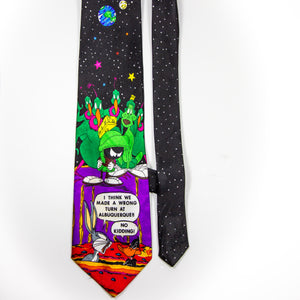 Vintage Looney Tunes Mania Lot of 3 Mens Ties Warner Bros Very Good Pre-Owned Condition - Vintage Heaven Shop
