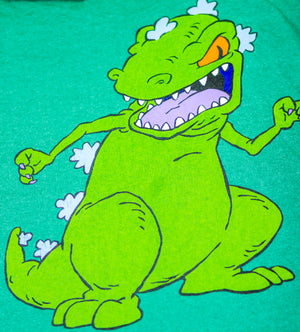 Vintage Reptar Shirt Size: Extra Large 60% Cotton 40% Polyester Made in Pakistan - Vintage Heaven Shop