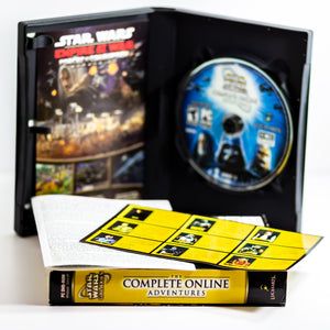 Star Wars Galaxies The Complete Online Adventures Release Year: 2006 Publisher: LucasArts Entertainment Genre: Role Playing Platform: PC - Vintage Heaven Shop