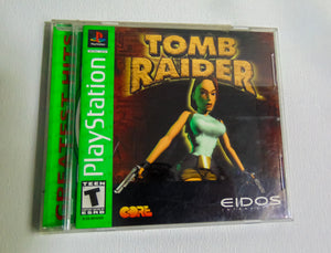 Game: Tomb Raider Console: Play Station ESRB Rating: T- Vintage Heaven Shop