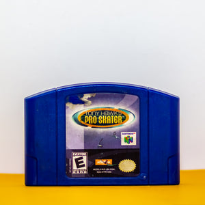 Game: Tony Hawk's Pro Skater Console: N64 ESRB Rating: E Made in Japan - Vintage Heaven Shop
