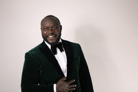 Green Velvet Blazer - Gifts for him - Holiday gifts for him