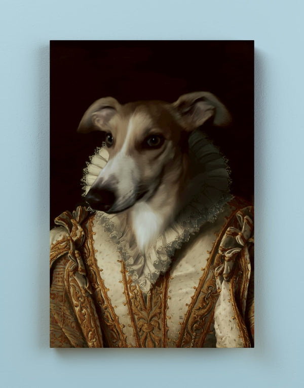 Our Queen - Custom Pet Canvas - Make Me a Royal