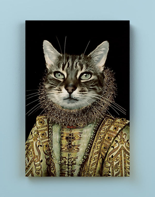 Our Sovereign - Custom Pet Canvas - Make Me a Royal