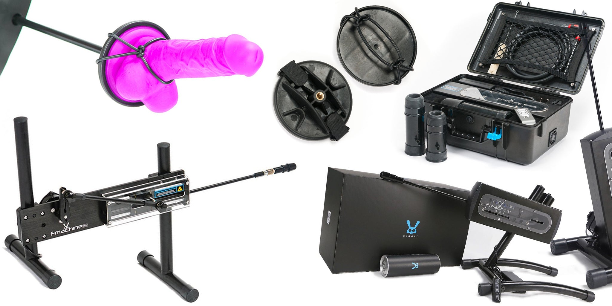 Male Stockroom Sex Machines: F-Machines, Milking Machine, Tremblr, Fucking Machines, Sex Machine Adaptors, and more.