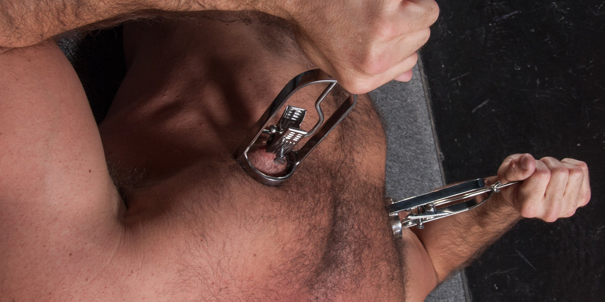 Male Stockroom Nipple Toys: Nipple Clamps, Nipple Suction, Body Clamps, Clothespin Clamps, and more