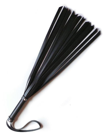 "18"" Basic Leather Flogger  BDSM GEAR WHIPS & PADDLES"