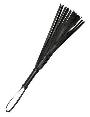 "24"" Basic Leather Flogger-BDSM GEAR, WHIPS & PADDLES-Male Stockroom"