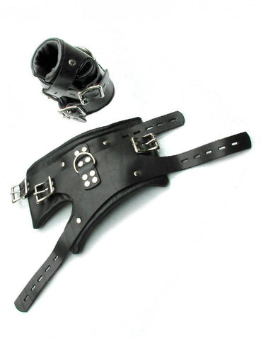Deluxe Suspension Cuffs-BDSM GEAR, BONDAGE RESTRAINTS, WRIST & ANKLE CUFFS-Male Stockroom