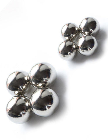 Magnetic Nipple Balls-BDSM GEAR, NIPPLE TOYS-Male Stockroom