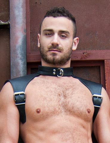 The Combat-BODY HARNESSES, FETISH WEAR-Male Stockroom