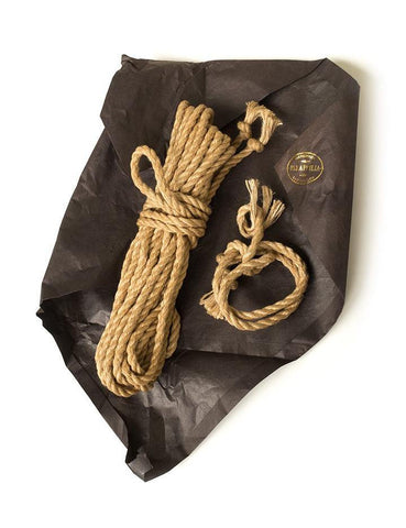Jute Bondage Rope Natural by Paraphilia Toys  BDSM GEAR BONDAGE RESTRAINTS