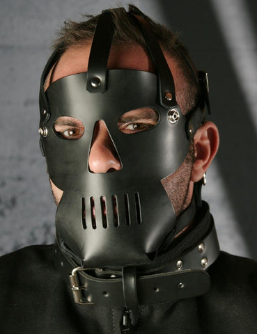 The Punisher Muzzle  BDSM GEAR HOODS & BLINDFOLDS