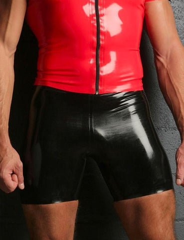 Rubber Cycle Shorts, Small