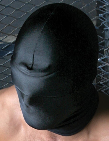 Spandex Hood w/ Blindfold  BDSM GEAR HOODS & BLINDFOLDS