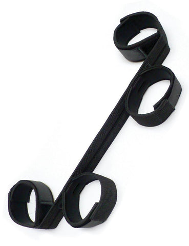 Sportsheets Bondage Spreader Bar With Wrist and Ankle Cuffs  BDSM GEAR BONDAGE RESTRAINTS