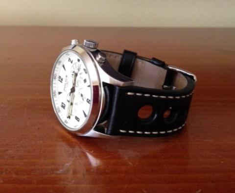SFT Exclusive Grand Prix Leather Watch Band | Strapped For Time