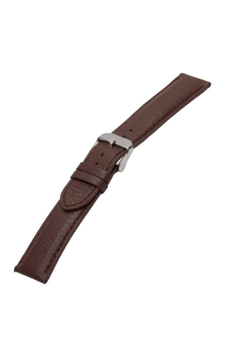 Ultra Soft Sport Leather Matching Stitch 22MM Brown