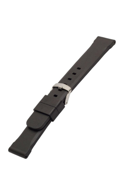 Bonetto Cinturini Italian Rubber Panerai Style watch band - Strapped For Time