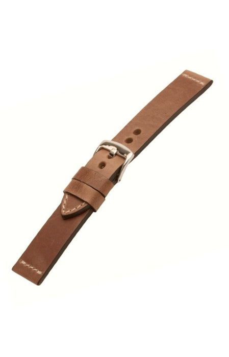 Distressed Leather Watch Band Tan watch band - Strapped For Time
