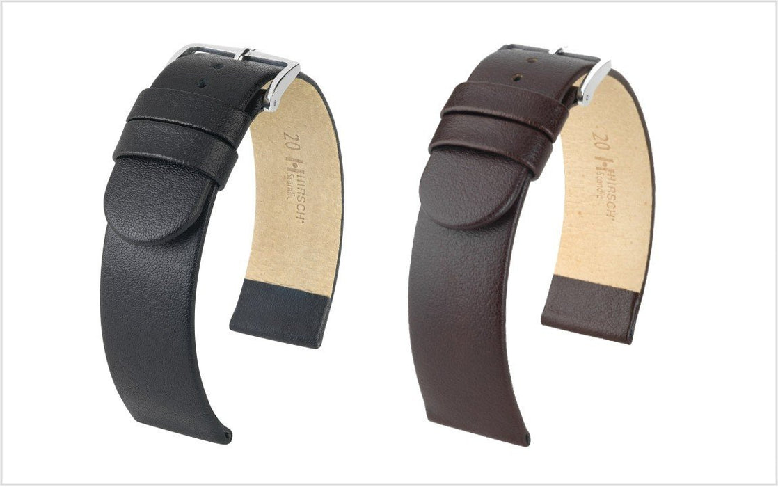 Hirsch Scandic Watch Band Brown watch band - Strapped For Time