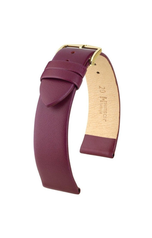 Hirsch Toronto Watch Band Berry watch band - Strapped For Time