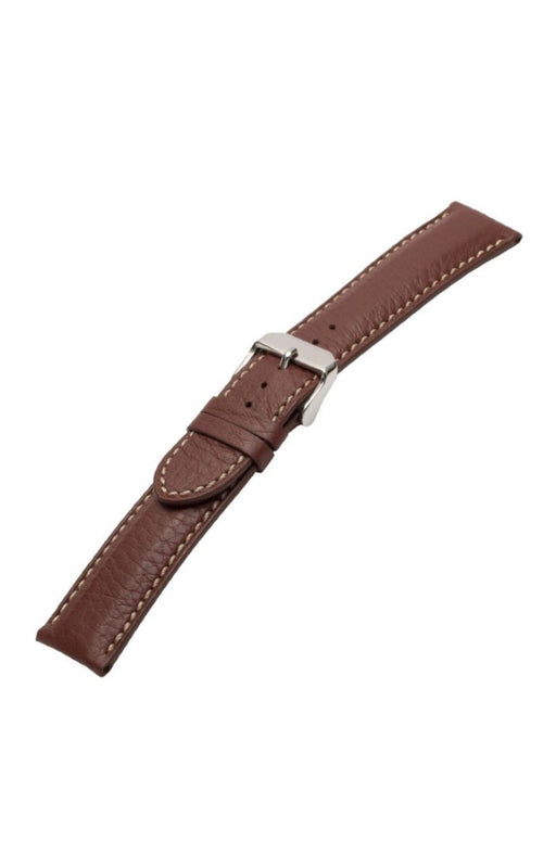 Ultra Soft Sport Leather Watch Band Brown watch band - Strapped For Time