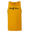 Unisex Hardly Home Travel Tank Top