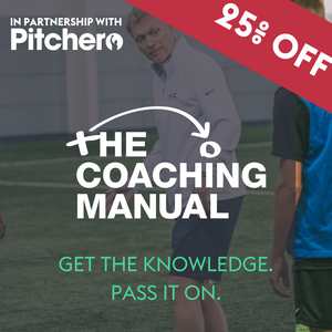 Pitchero and The Coaching Manual - 25% Off