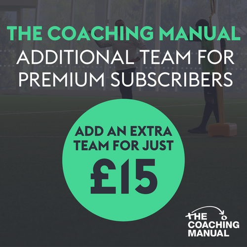The Coaching Manual - Additional Teams