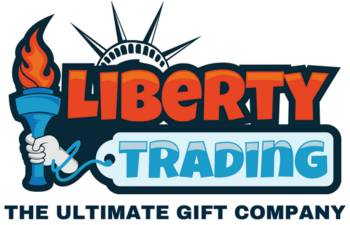 Liberty trading ultimate gift company logo. Gifts for girls, boys, him, gifts for her, gifts for kids & gadgets for men