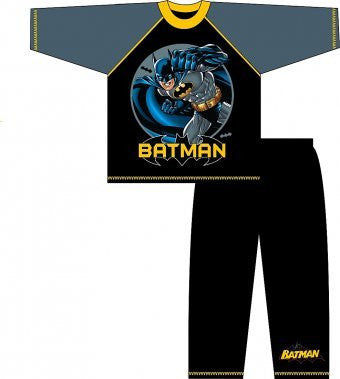 Fantastic Batman (Yellow/Black) Pyjamas - 7-8 Years Old