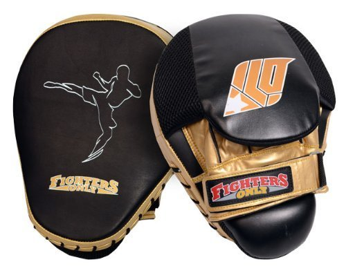 Fighters Only Men's Focus Mitts - Black