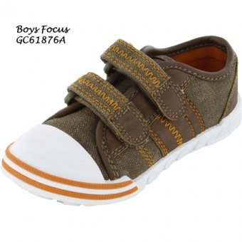 Boys Fantastic 'Detroit MI' Canvas Trainers - MJ4206 DMI