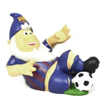 F.C Barcelona Slide Tackle Football Garden Gnome