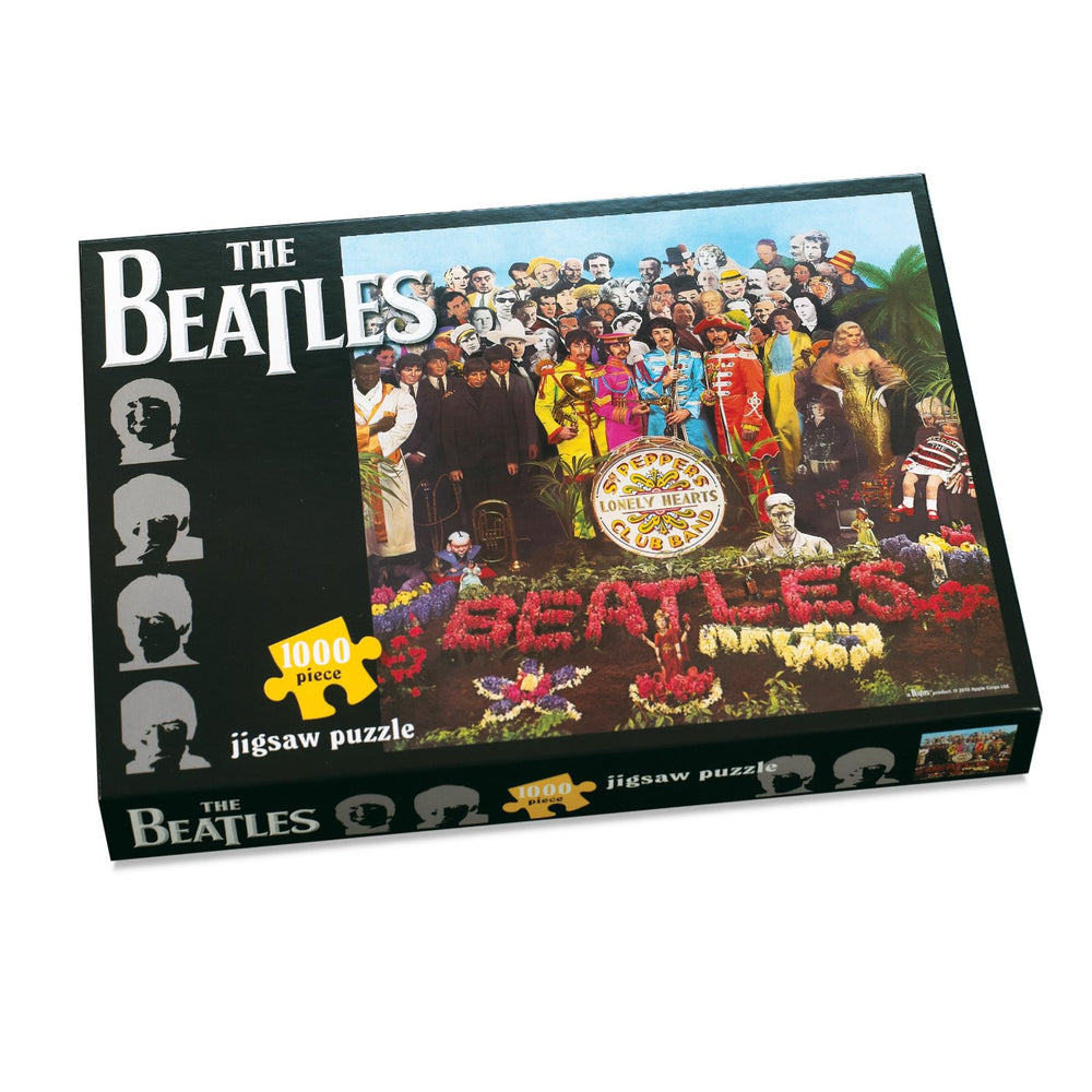 The Beatles ~~ Sgt Pepper's Lonely Hearts Club Band ~~ 1000 Piece Jigsaw Puzzle ~~ Classic Album