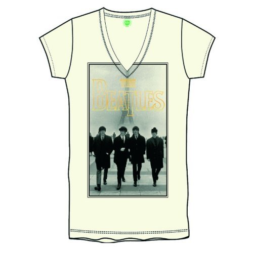 The Beatles Eiffel Tower Ladies T-Shirt
